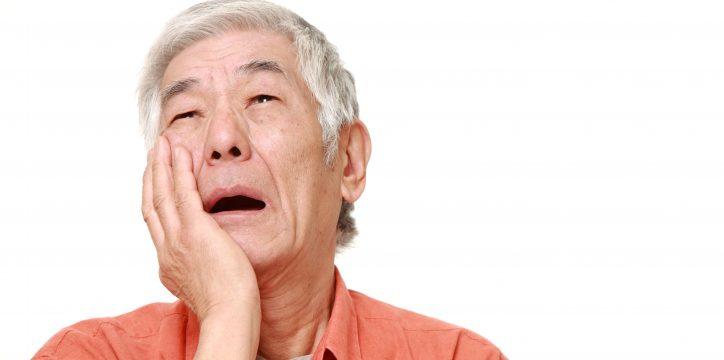 歯周病で困る男性