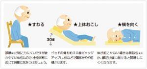 介護歯磨き 体勢