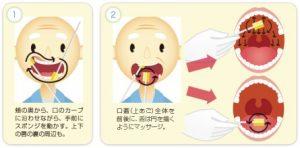 口腔ケアジェルの使用方法