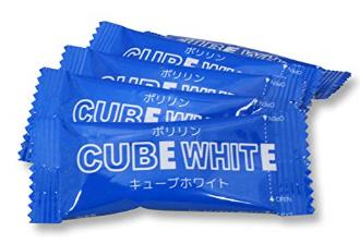 キューブホワイト